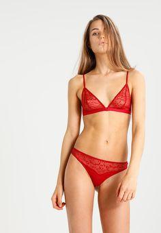 Les Girls Les Boys SOFT - Triangle bra - red college - Zalando.com