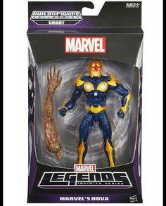 #Marvel #Legends #Groot #Series #Nova  #Hasbro #actionfigures #action #figures #figuras #ação #heróis #Heroes #comics #Quadrinhos #avengers #vingadores #toys #movies