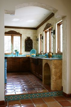 Turquoise Mexican Kitchen