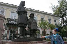 """Памятник """"Дети войны"""" в Красноярске"""