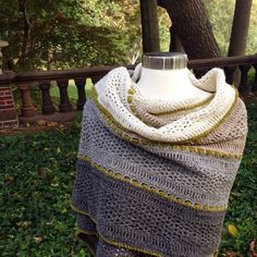 Ravelry: katrog's Succumbed to Temptation (wrap) (Pattern by Felted Button: Treasures in the Sand Wrap available on Ravelry.)