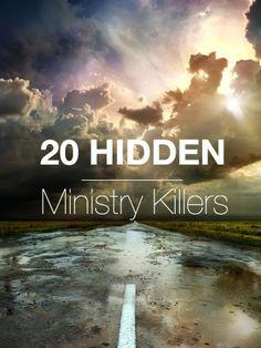20 Hidden Ministry Killers by George Bullard