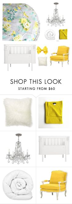"""""""Yellow Canary Play Mat"""" by styled-by-olivia-grace on Polyvore featuring interior, interiors, interior design, home, home decor, interior decorating, Williams-Sonoma, Sebra, Brinkhaus and Baxton Studio"""