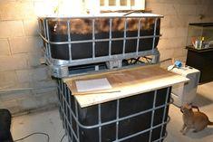 Use an Arduino to control an aquaponics setup, raising fish and growing plants.