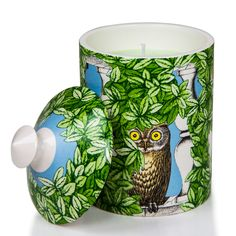 Fornasetti Architettura Negativo Candle (10.5 oz) - CANDLES & HOLDERS - HOME DECOR