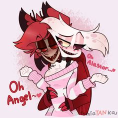 When ppl dare Alastor to flirt with Angel Monster Hotel, Animes Yandere, Hazbin Hotel Angel Dust, Alastor Hazbin Hotel, H Hotel, Hotel Trivago, Vivziepop Hazbin Hotel, Susanoo, Anime Lindo