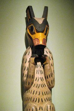 NYC - National Museum of the American Indian - Haida house post by wallyg, via Flickr