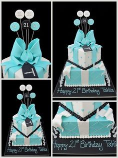 1000 Images About Birthday Cake Idea On Pinterest Blue