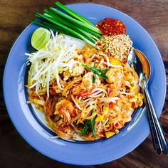 Citizens, Pad Thai or ผัดไทยกุ้งสด has become the most clichéd dish at a Thai restaurant - and it deserves so much more respect than it gets!    Pad Thai is a stir-fried rice noodle dish commonly served