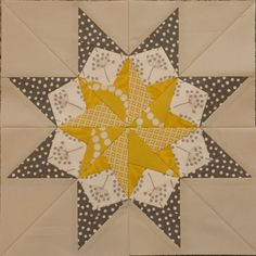 "From the Book ""50 Fabulous Paper-Pieced Stars""."