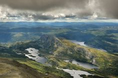 The majestic view from Gaustatoppen, Norway [3434x2275]
