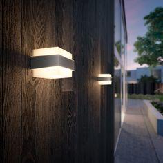 Simple Spike Walkover et appliques Double Jardin d/'éclairage en acier inoxydable