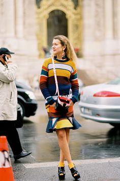 Vanessa Jackman: Paris Fashion Week AW 2012...Natalie