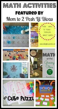 hands-on and fun math activities for kids