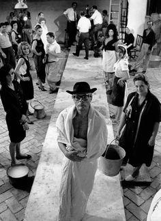 Marcello Mastroiani in 'Otto e Mezzo', Fellini, 1963
