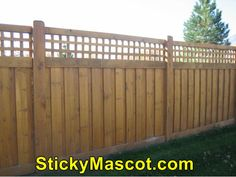 Excellent idea on  Wood Fence Repair001