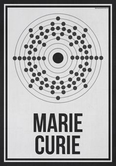 A Series of Minimalist Posters Featuring Women Who Changed Science