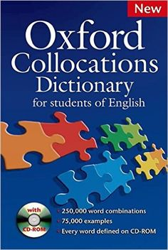 This dictionary shows you the common word combinations (collocations) that are essential for natural-sounding British and American English. Completely revised and extended, the new edition has over 250,000 collocations and over 75,000 examples.