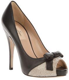 059017453e9 Valentino - Peep Toe Pump Valentino Shoes