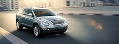 2012 ENCLAVE – with Premium Group IN QUICKSILVER METALLIC so fun to drive