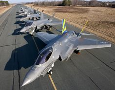 at NAS Patuxent River by Lockheed Martin Stealth Aircraft, Military Aircraft, F35 Lightning, Airplane Car, Military Operations, Military Pictures, War Machine, Fighter Jets, Fighter Aircraft