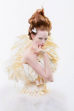 Paper dress 'Ravenna'