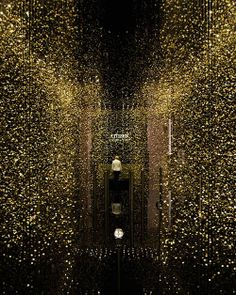 """Installation Art...Art Installation """"Light is Time"""" developed by Tsuyoshi Tane and Citizen during the exhibition of Design in Milan."""