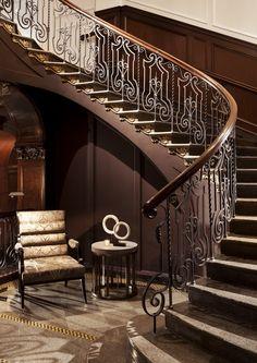 Hotel Georgia grand staircase