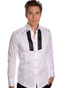 50d9120a Mondo Jeans | White Luxury Dress Shirt - Lux Luxury Dress, Fashion Seasons,  Dress