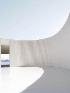 Chile House, Chile House Penco, Chile / Johnston Marklee minimal architecture in white