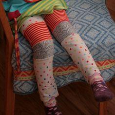 Kleenes Notizbuch: Leggings Upgrade - mal wieder