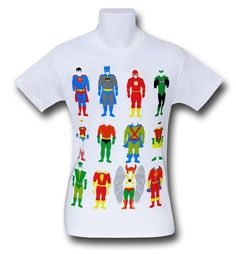 Images of Justice League Costumes T-Shirt