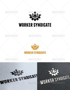 Worker Syndicate	 Logo Design Template Vector #logotype Download it here: http://graphicriver.net/item/worker-syndicate-logo-template/2506089?s_rank=229?ref=nexion