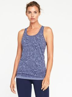 Fitted Seamless Performance Tank for Women Workout Tops a312da361