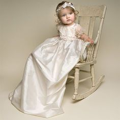 Simply Silk Christening Gowns - Jessica Christening Gown