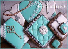 Tiffany's set     By Evelindecora     http://blog.giallozafferano.it/evelindecora/