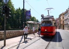 Sarajevo, Bosnia - hitchhiking and transport tips Sarajevo Bosnia, Light Rail, Old World Charm, Bosnia And Herzegovina, Public Transport, Buses, Transportation, Automobile, Cable