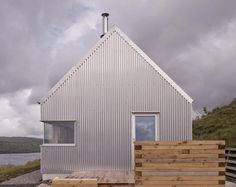 Self-built Tinhouse is a contemporary take on Isle of Skye vernacular design