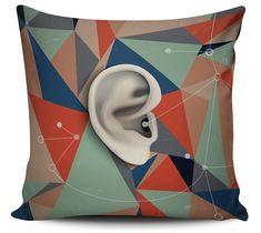 Almofada Ouvir Musica
