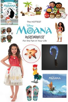 HOT New MOANA Mercha