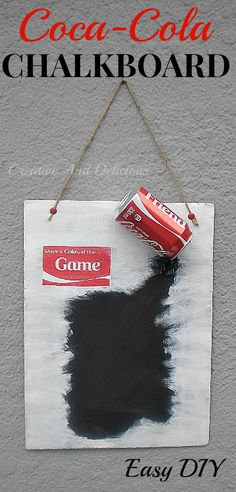 Quick & Easy kitchen craft ! #CocaCola maybe for aunt Rachel?! @Monica Forghani Forghani Forghani Forghani Muth
