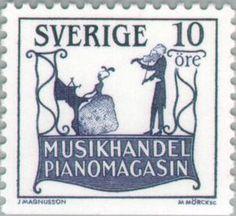 "Sweden 10ö ""Signs"" 1985. martin Mörck sc."