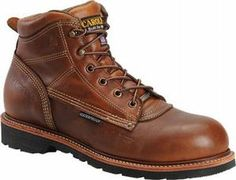 Carolina Men's 6 in. Waterproof Soft Toe Work Boot-MADE IN USA