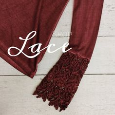 LOVE lace for Fall 2015! #ShopGeezLouise