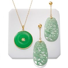 Jade is a treasured stone that is the embodiment of grace and integrity. Fine examples of its carved workmanship can be found in East Asian history. Click on the #jade gemstone jewelry to shop the Ross-Simons collection.