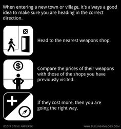 How To Ask For Directions In An RPG