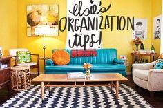 DIY Home & Decor Organizational Tips