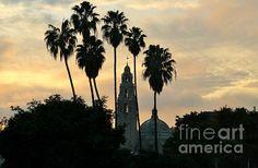 Balboa Park Sunset.