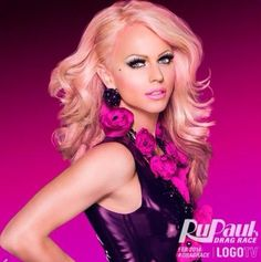 Courtney Act - yes this is a man. You can start feeling bad about yourself as a woman now!