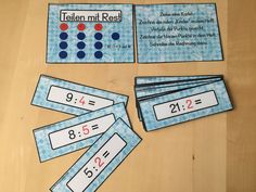 Kostenloses Mathematik Freiarbeitsmaterial für alle! Einfach herunterladen, ausdrucken und los geht es! Viel Spaß damit!
